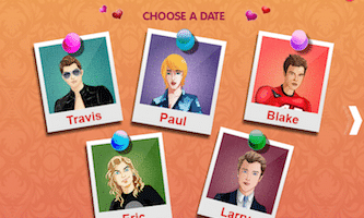 dating sim games where you are a girl